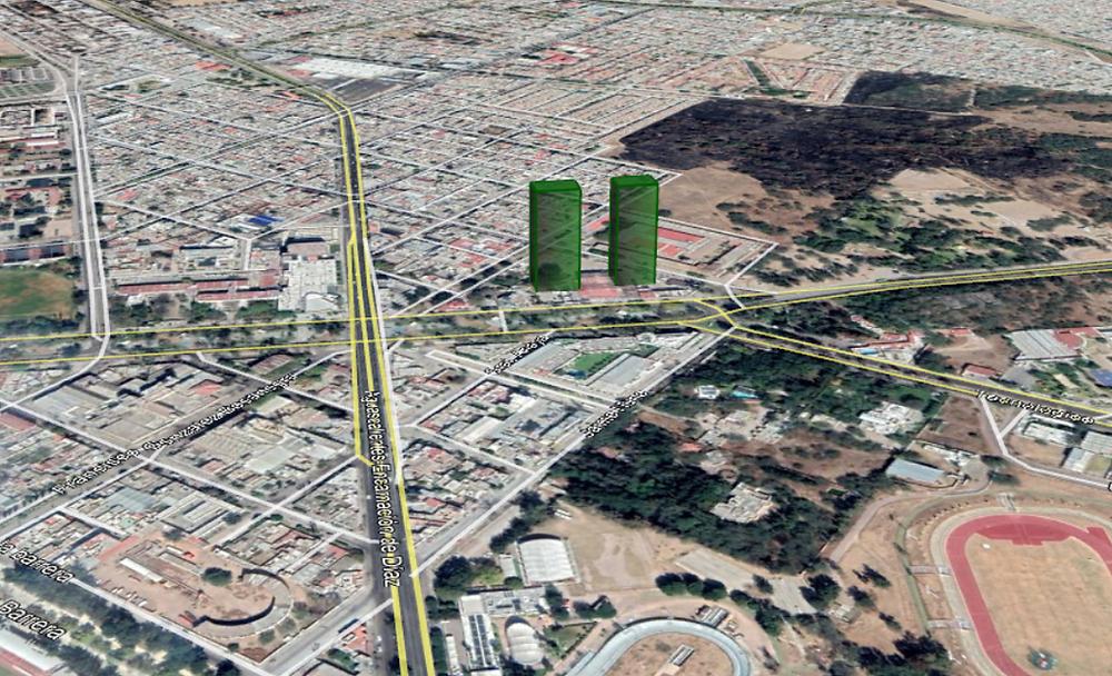 Nuevas torres en Aguascalientes
