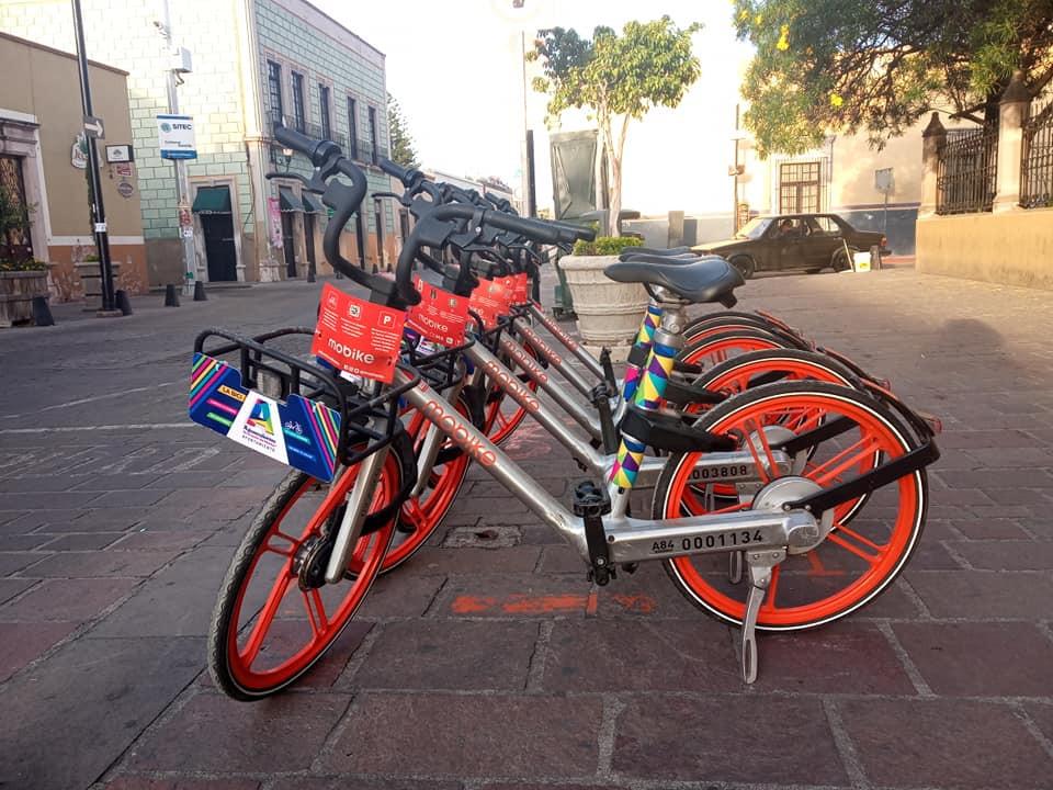 bicicletas públicas mobike aguascalientes