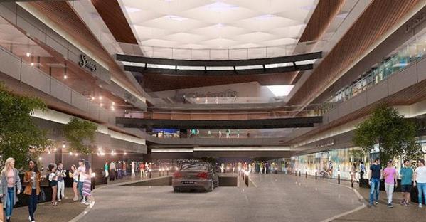 La oferta comercial sumaría a la actual de San Telmo Town Center