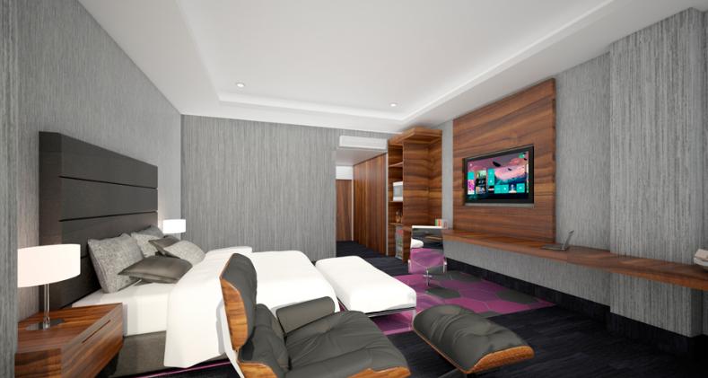 Remodelación cuartos del hotel Aguascalientes
