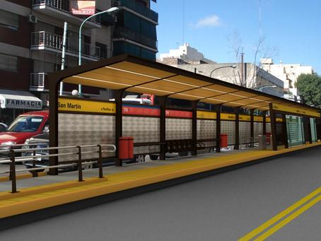 Por instalarse paraderos de autobús en camellón de López Mateos