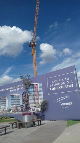 Construcción San Telmo Business towers
