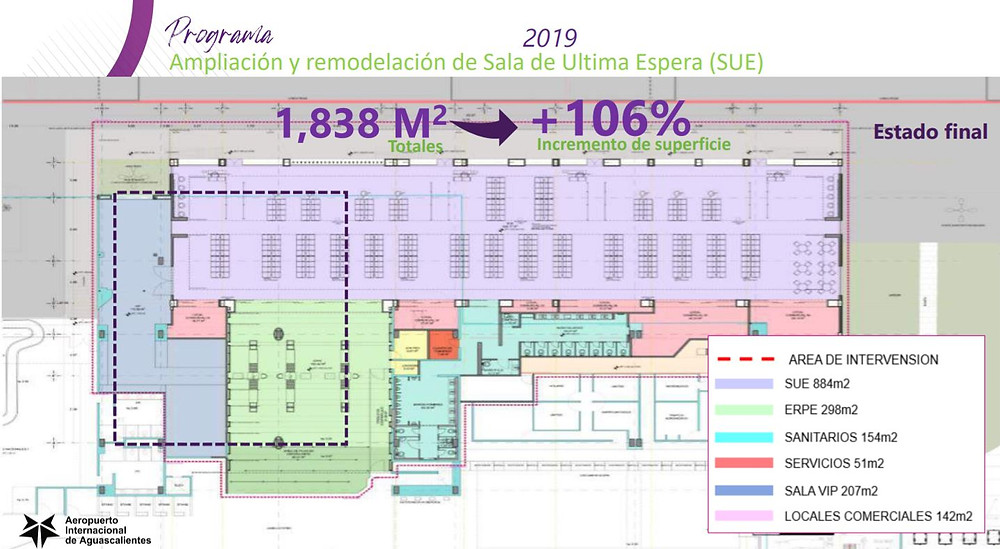 plano aeropuerto aguascalientes