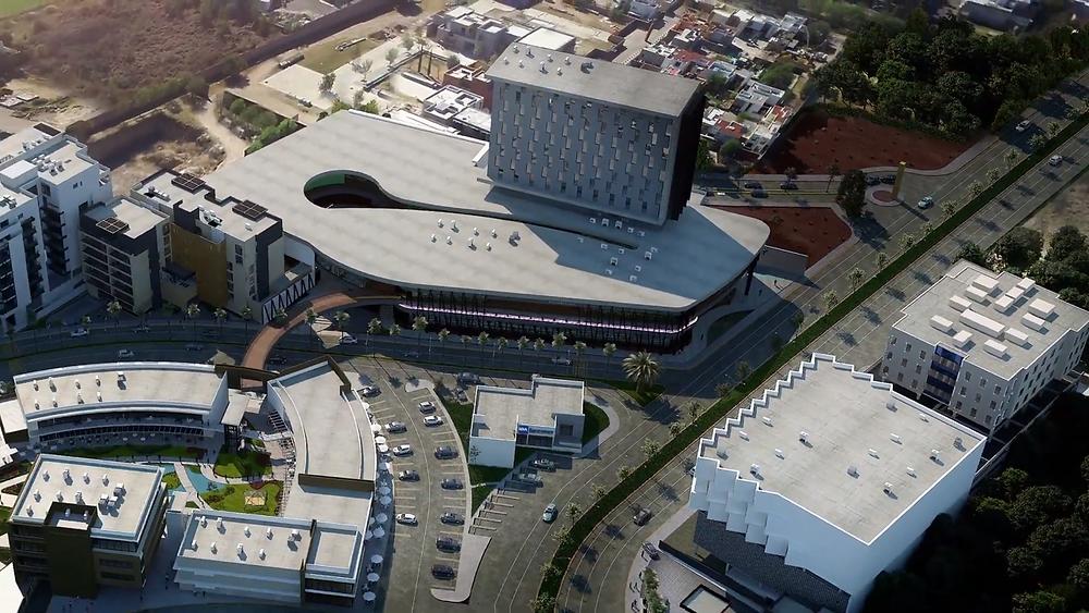 centro comercial y hotel san telmo
