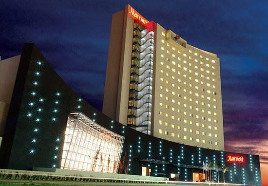 Hotel Marriot Aguascalientes de 70 metros de altura