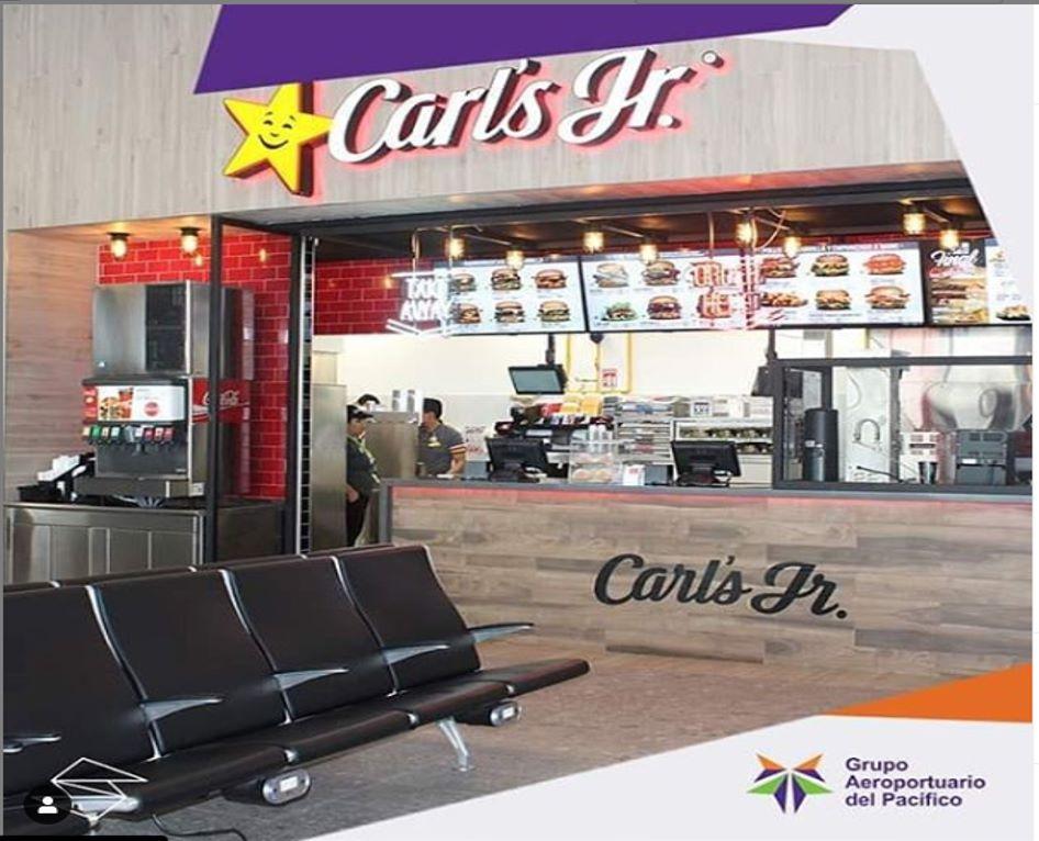 Carl's Jr aguascalientes aeropuerto