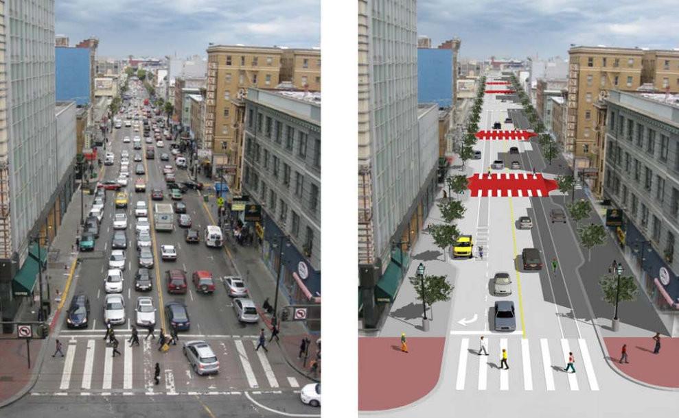Intervención urbana y dieta de caminos