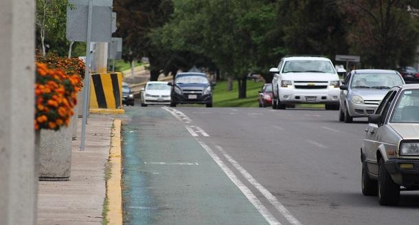 ciclovías peligrosas aguascalientes