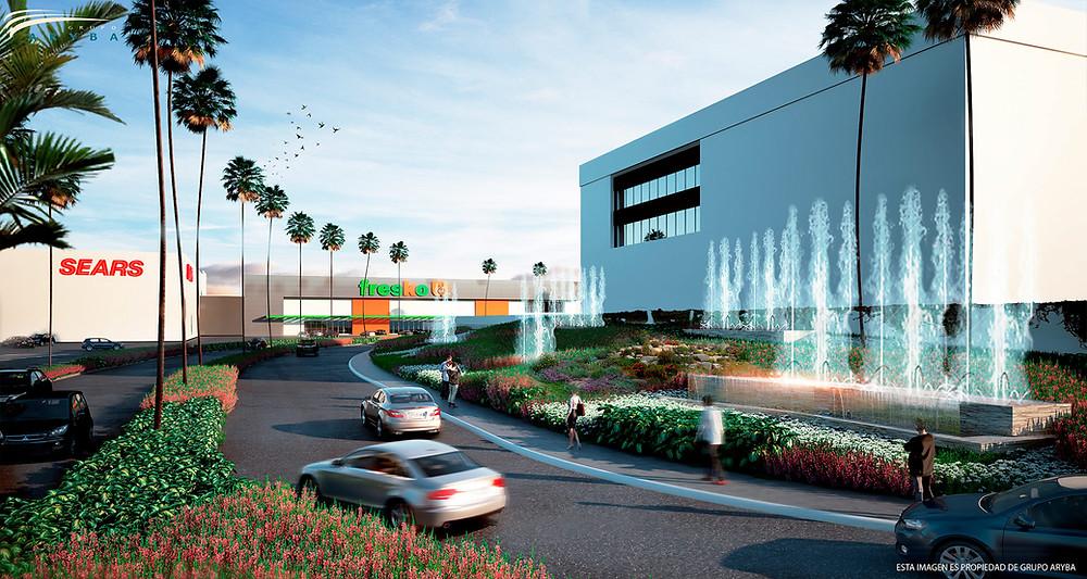 Remodelación del centro comercial Altaria en Aguascalientes