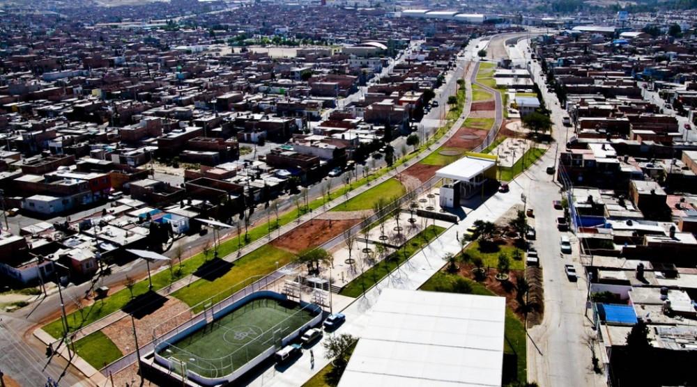 parque lineal linea verde aguascalientes