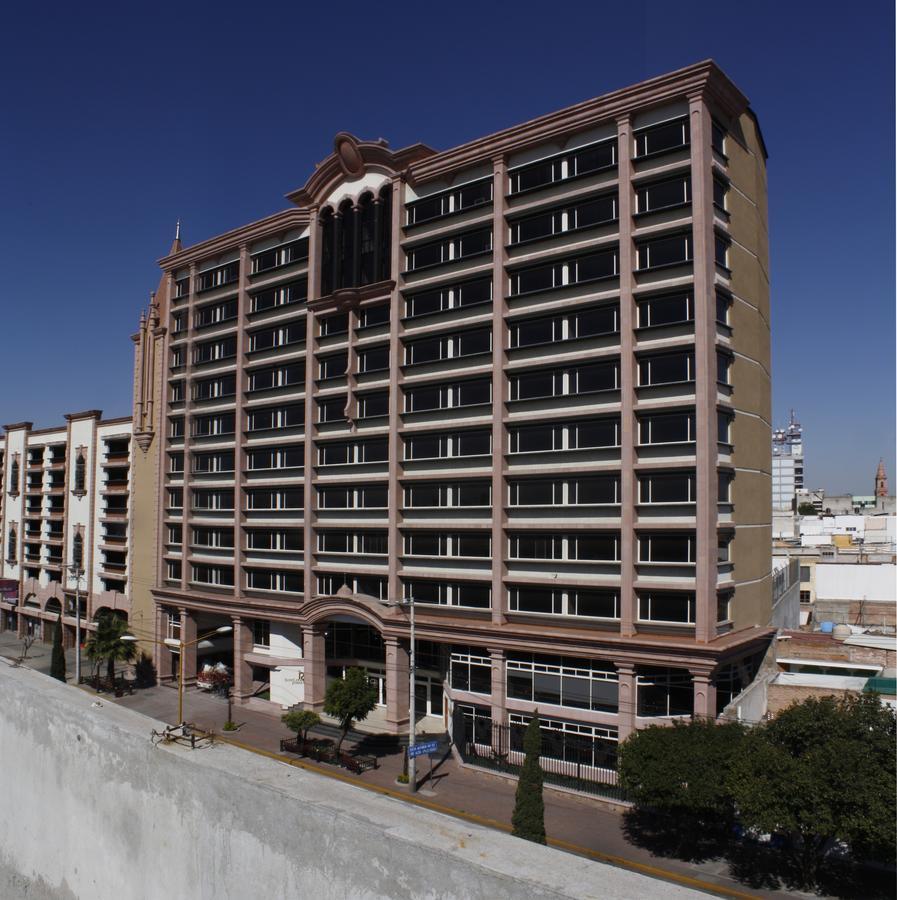 El hotel Gran Real Gran Plaza en Aguascalientes
