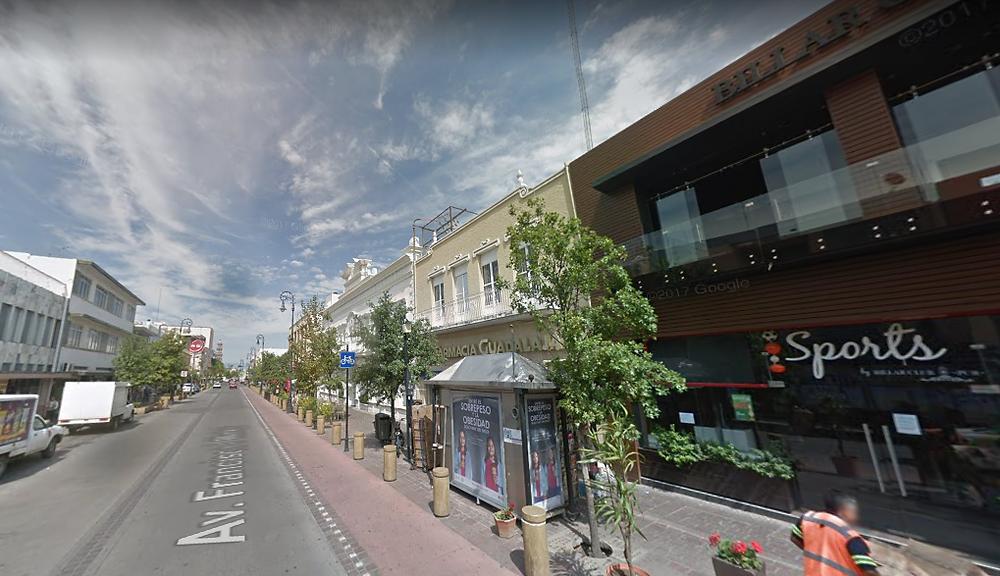 calles para personas en Aguascalientes