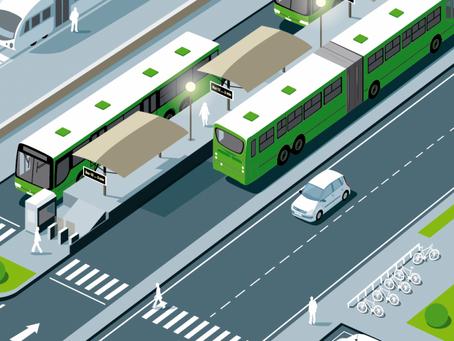 Mapa y noticias del proyecto de movilidad