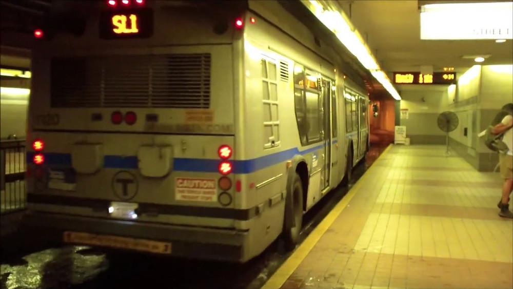 underground bus stop