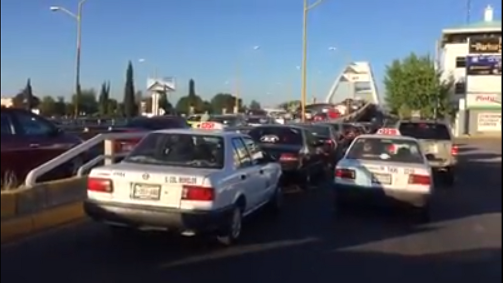tráfico en Aguascalientes