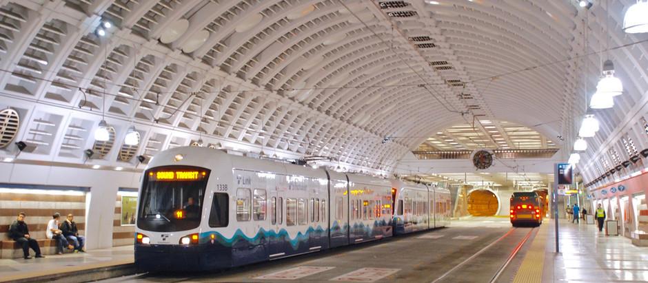 Túnel subterráneo para el transporte público