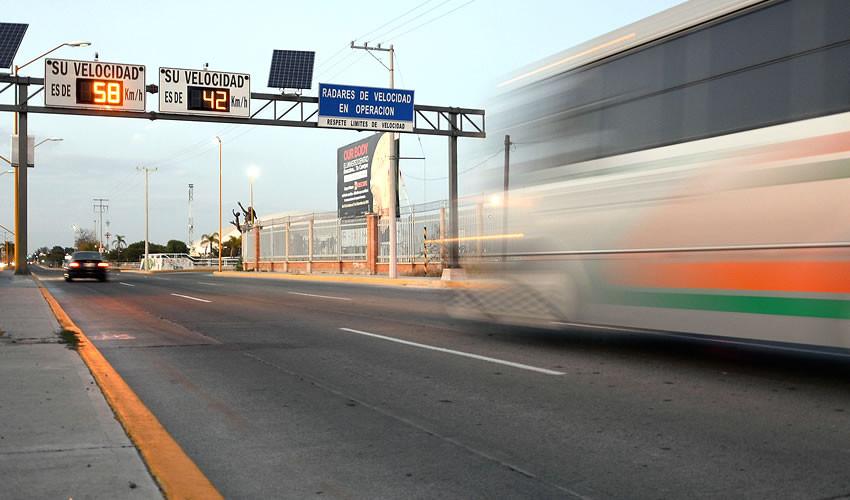 Gómez Morín en Aguascalientes, avenida de alta velocidad