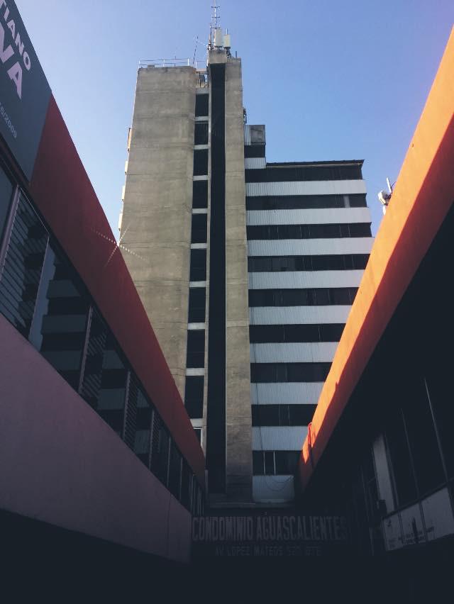 Condominio Aguascalientes, una de las primeras torres de la ciudad