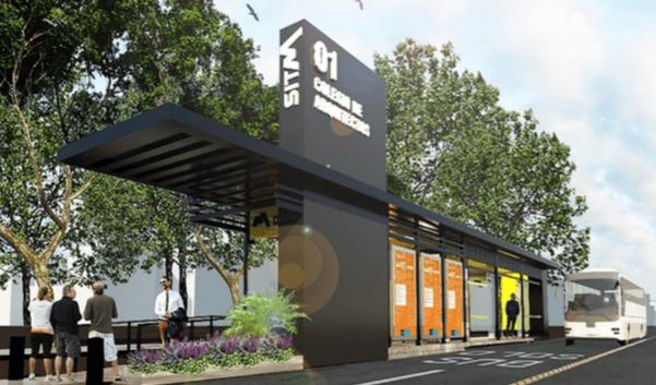 Diseño de las estaciones del SITMA