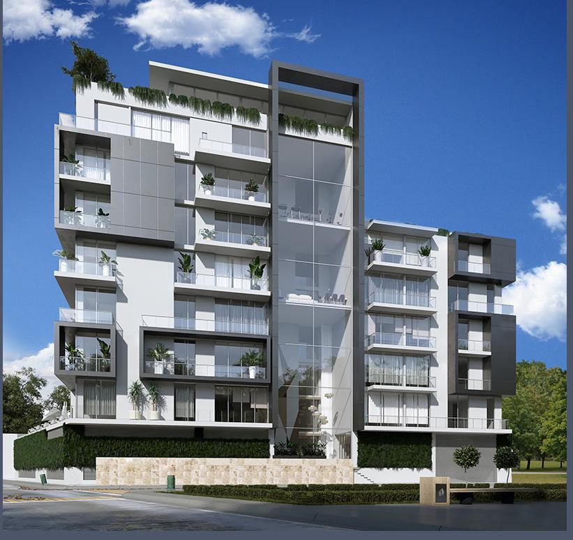 Graneros Cien es un proyecto vertical de 9 pisos en Aguascalientes
