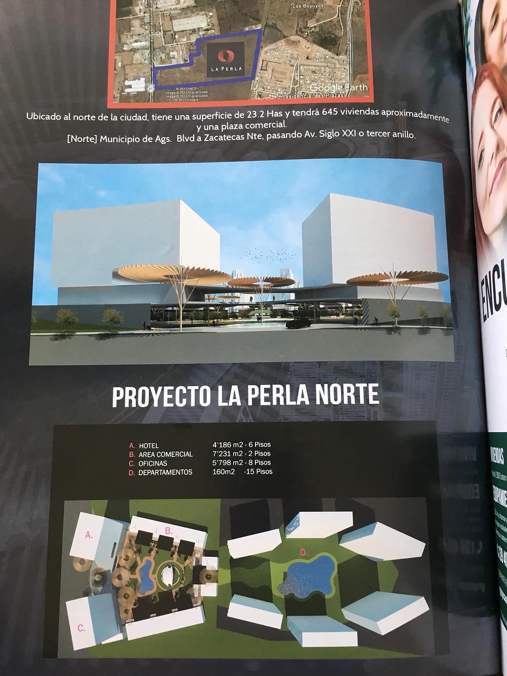 Proyecto de torres en la perla norte de Aguascalientes