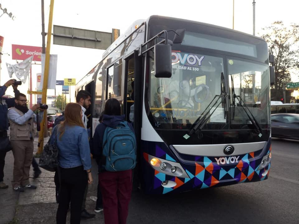 nuevos camiones urbanos de aguascalientes