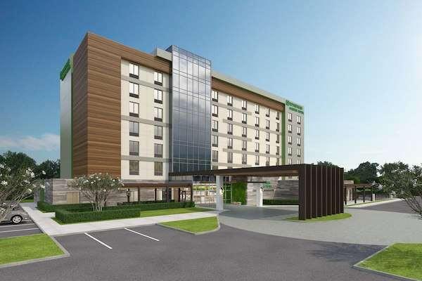 Fachada prototipo del hotel Wyndham Garden