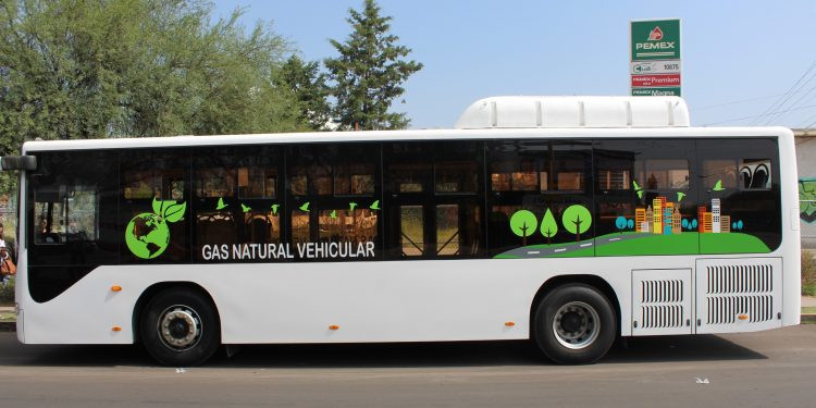 camiones de gas natural a prueba en Aguascalientes