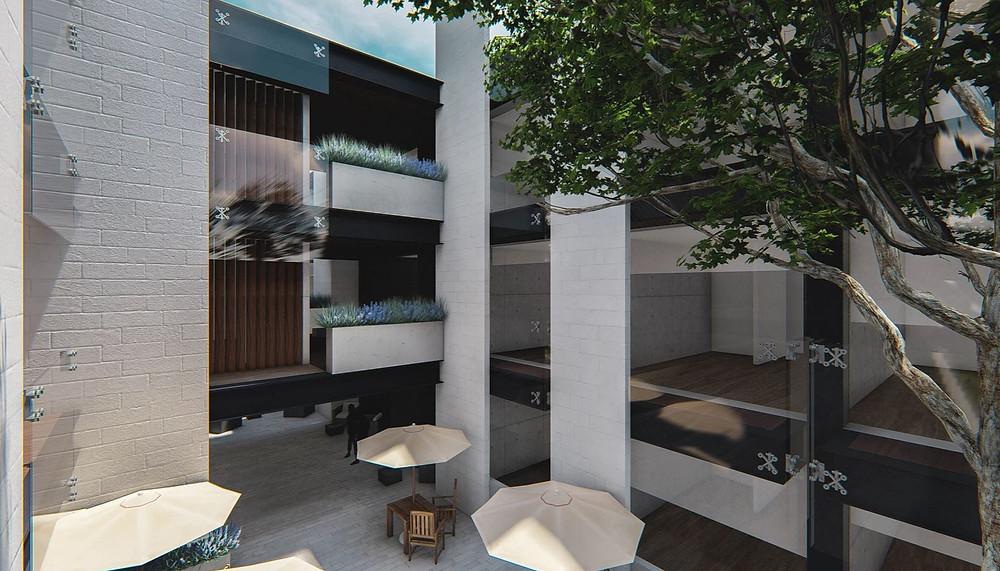 patio hotel san telmo aguascalientes