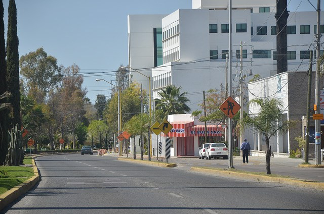 Panorama urbano de Colosio en Aguascalientes