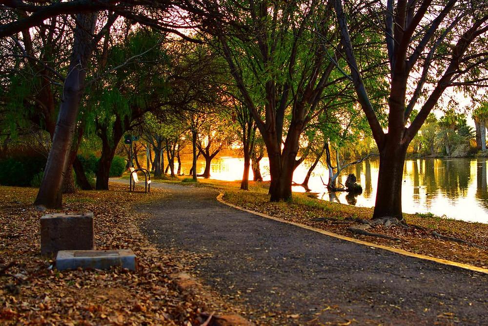 parques con lago en aguascalientes