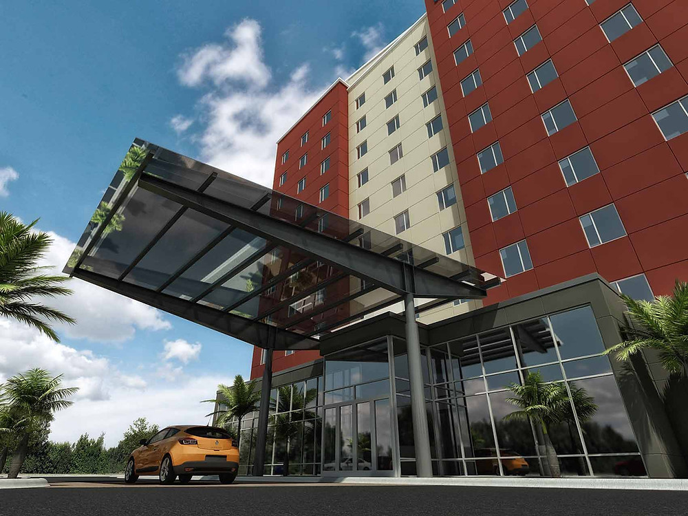 El hotel Hyatt Place Aguascalientes tendrá 10 pisos de altura