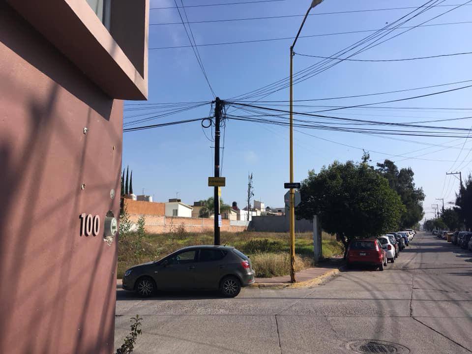Posible sitio del proyecto, en la esquina de Potreros y Graneros