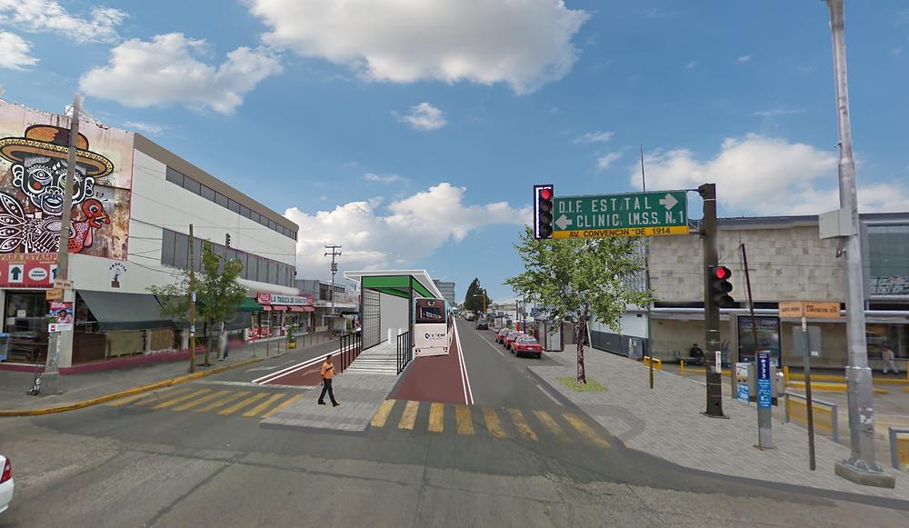 BRT Aguascalientes, estación central camionera