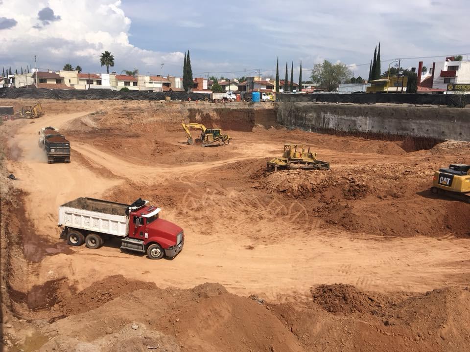 Excavación de MAC Aguascalientes Norte