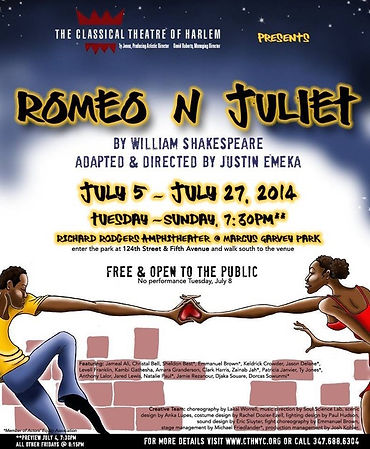 Romeo N Juliet Classical Theatre of Harlem