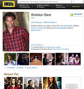 Sheldon Best IMDB