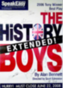 The History Boys SpeakEasy Stage Company