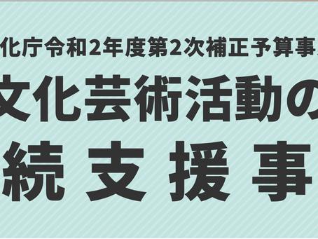 文化庁・補助金申請方法解説セミナー