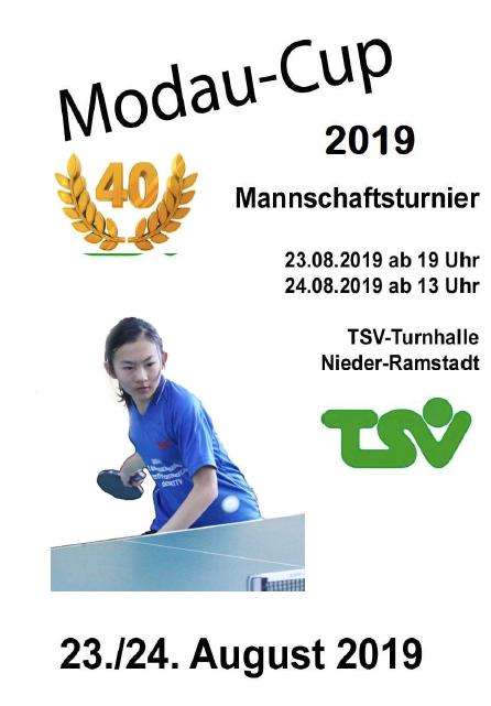 Jubiläum beim Modau-Cup 2019