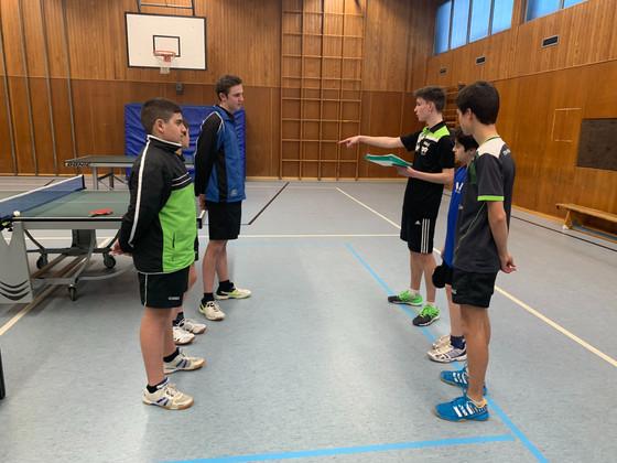 1.Jugend siegt 8:2 gegen Tabellenführer GSW