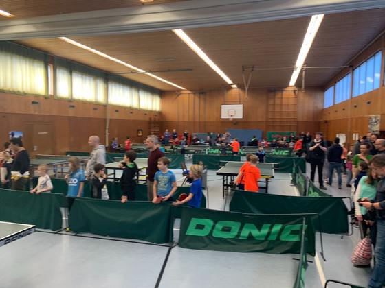Kreisentscheid derMinimeisterschaften in der TSV Halle