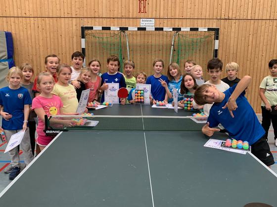 Minimeisterschaften in der Grundschule am Pfaffenberg ein voller Erfolg