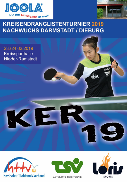 Kreisendrangliste Nachwuchs am 23./24.02. in Nieder-Ramstadt