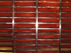 Red copper louver