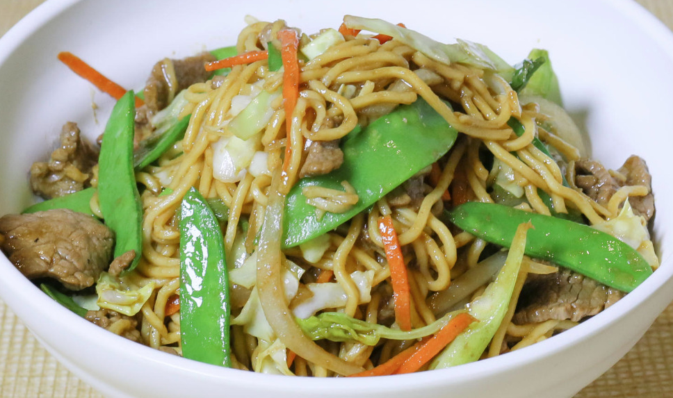 Lo Mein - Beef (Chinese Entree)