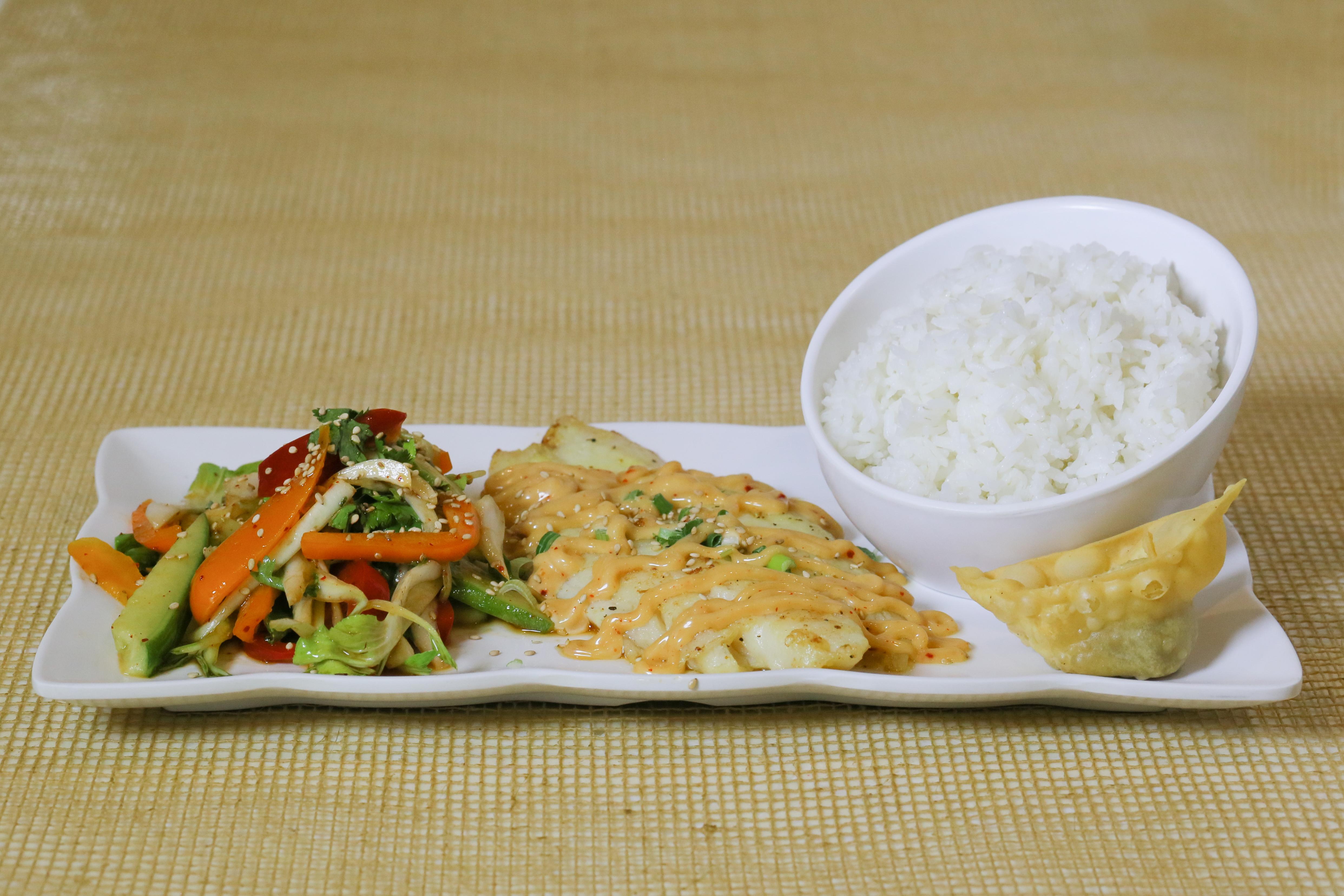 Korean Panfried Catfish