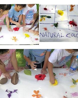 Exploring natural colors - nature art cl