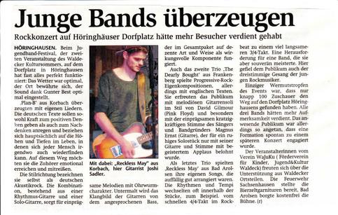 Jugendband-Festival Höringhausen 2017
