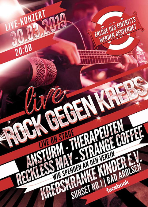 Rock gegen Krebs 30.03.2019 Sunset No.1 Bad Arolsen